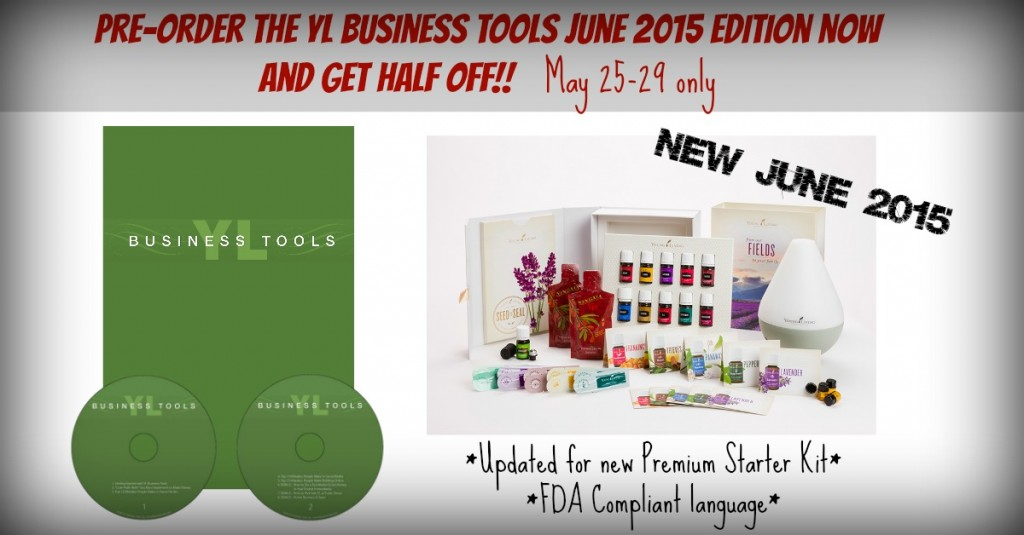 YL Business Tools ad pre order June 2015
