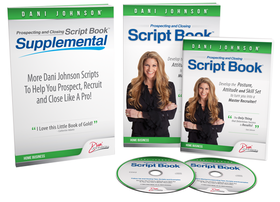 Dani Johnson Script Book Bundle